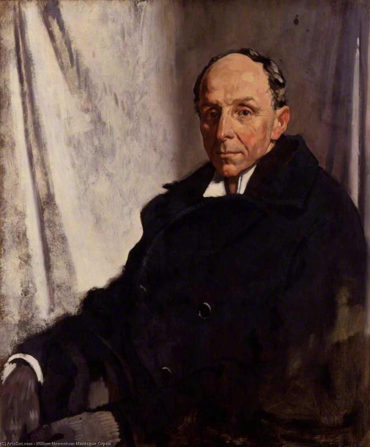 edgar algernon robert Gascoyne-cecil , 1st Vizconde Cecilio de chelwood de William Newenham Montague Orpen (1878-1931, Ireland)