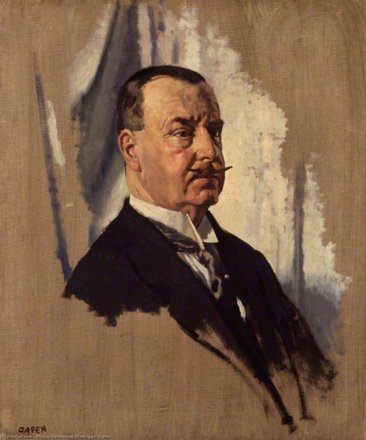 Señor Joseph Jorge Sala , 1st Bt de William Newenham Montague Orpen (1878-1931, Ireland)