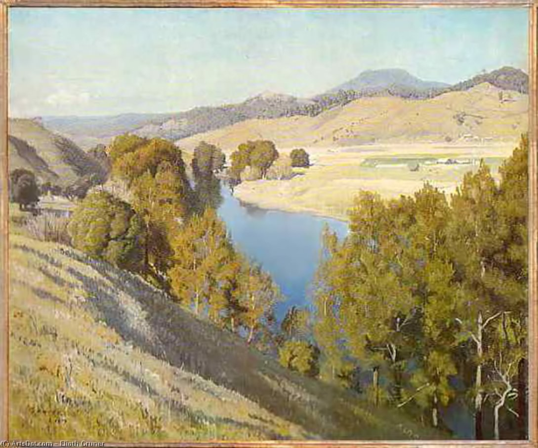 bellingen pastoral de Elioth Gruner (1882-1939, New Zealand)