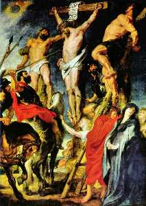 Peter Paul Rubens - cristo en el cruz