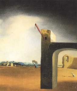 Salvador Dali - 'Morphological Echo' , ce..