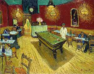 Vincent Van Gogh - the night cafe [ 1888 ]
