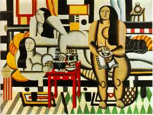 Fernand Leger - tres mujeres