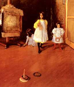 William Merritt Chase - Anillo Toss