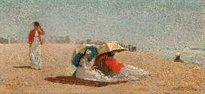 Winslow Homer - hampton east largos  Isla..