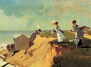 Winslow Homer - rama larga , new jersey