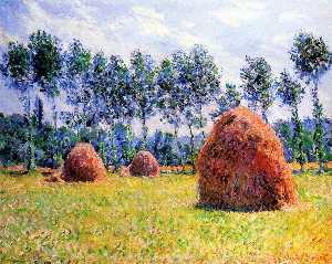 Claude Monet - Pajares en Giverny