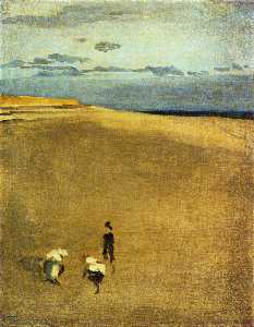 James Abbott Mcneill Whis.. - la playa a Selsey Pico