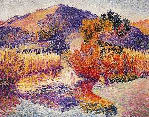 Henri Edmond Cross - Río en Saint-cir