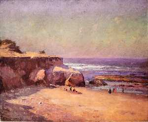 Theodore Clement Steele - en el Oregón  la costa