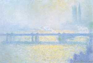 Claude Monet - Puente de Charing Cross de Londres