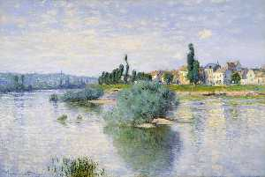 Claude Monet - Lavacourt