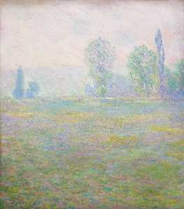 Claude Monet - prados en giverny