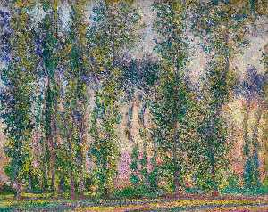 Claude Monet - Álamos en Giverny