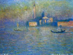Claude Monet - san giorgio Mayor , Crepúsculo
