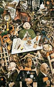 George Grosz - Alemania un Winter-s Historia