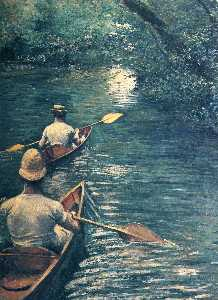 Gustave Caillebotte - Las Canoas