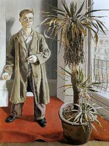 Lucian Freud - Interior en Paddington