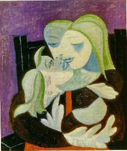 Pablo Picasso - Madre e hijo ( Marie-Therese a..