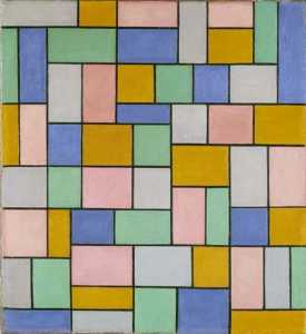 Theo Van Doesburg - Composición de disonancia..