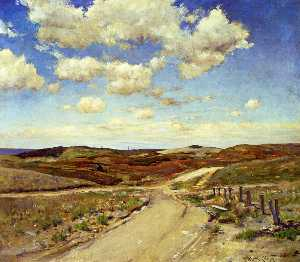 William Merritt Chase - Shinnecock Colinas 04