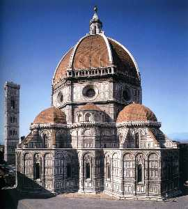 Filippo Brunelleschi - vista de la catedral