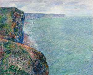 Claude Monet - el mar aspecto  todaclasede  Acantilados