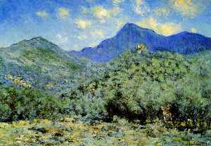 Claude Monet - Valle Bouna cerca de Bordighera