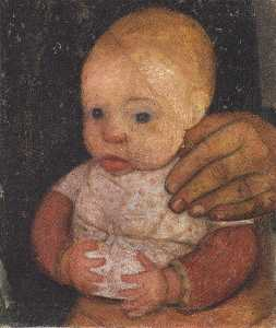 Paula Modersohn Becker - con lactante Mother's Man..