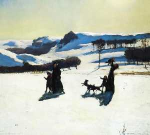Rockwell Kent - nieve Los campos