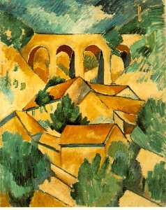 Georges Braque - Viaducto a  L_Estaque