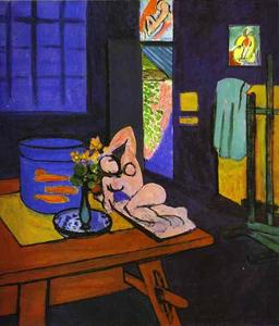 Henri Matisse - Red Fish en Interior