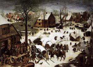 Pieter Bruegel The Elder - El censo en Belén