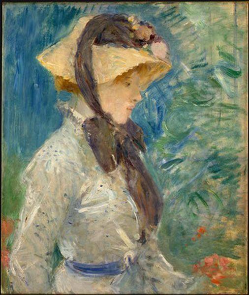 Resultado de imagen para pintura mujer con sombrero