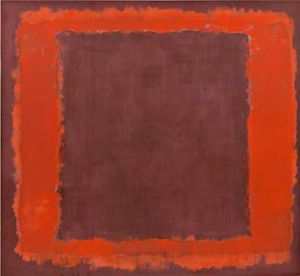 Mark Rothko (Marcus Rothkowitz) - marrón y orange