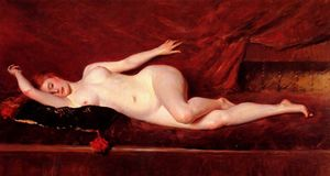 William Merritt Chase - Un estudio en Curves
