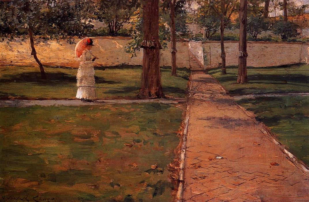 En Brooklyn Navy Yard, 1887 de William Merritt Chase (1849-1916, United States)