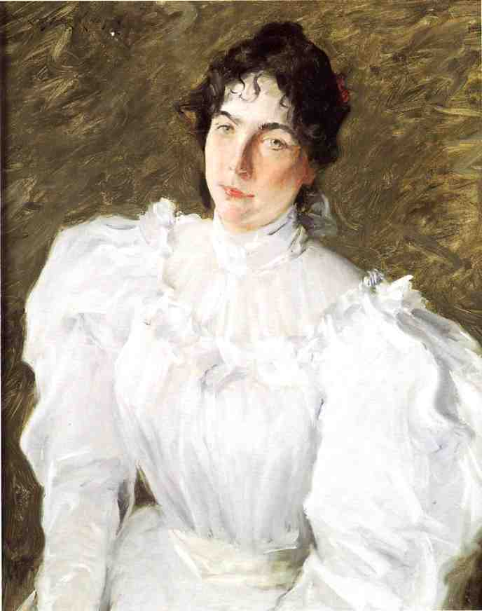 Botas retrato de virginia Gerson 1, aceite de William Merritt Chase (1849-1916, United States)
