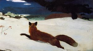 Winslow Homer - Fox Caza