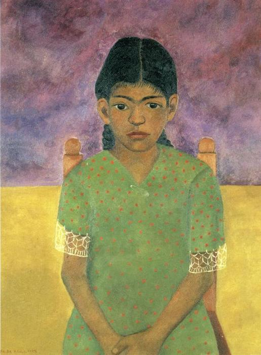 La niña de virginia de Frida Kahlo (1907-1954, Mexico)
