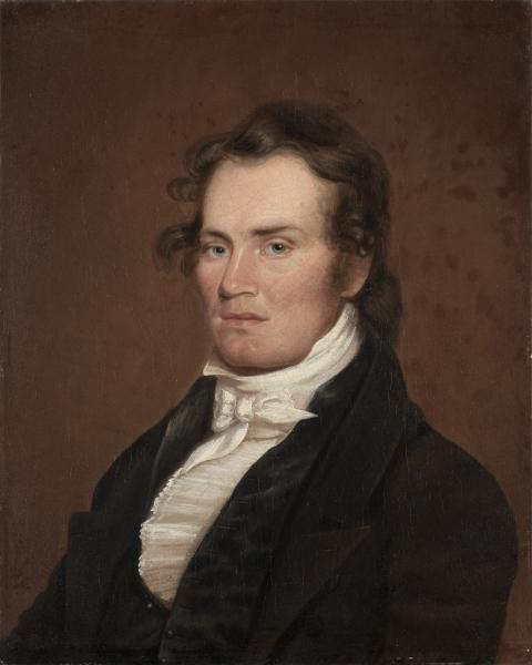 James G. McKinney, óleo de Matthew Harris Jouett (1788-1827, United States)