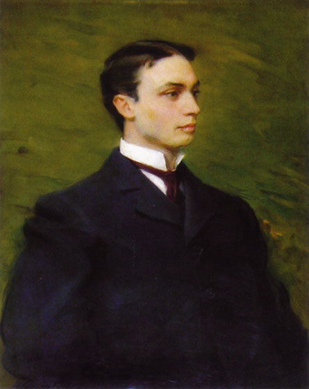 Henry Howard Houston, Jr., óleo de Cecilia Beaux (1855-1942, United States)