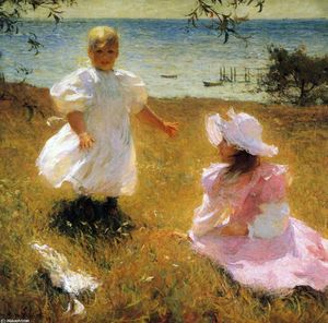 Frank Weston Benson - el hermanas