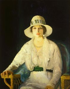 George Wesley Bellows - Florencia Davey