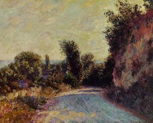 Claude Monet - camino cerca Giverny
