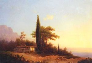 Ivan Aivazovsky - vista on Crimea