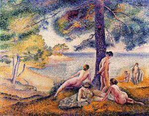 Henri Edmond Cross - a lugar en el `shade`