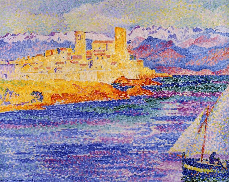 Antibes de Henri Edmond Cross (1856-1910, France)