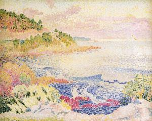 Henri Edmond Cross - Costa de la Provenza, Le Four ..