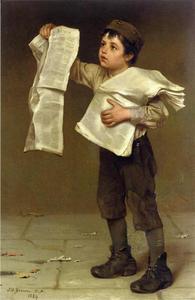 John George Brown | 320 Obra De Arte | Pedir Grabados De Calidad ...